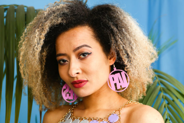 ADI; Hoop Perspex Earrings | Festival & Party Jewellery | Kokomo Design | Bristol
