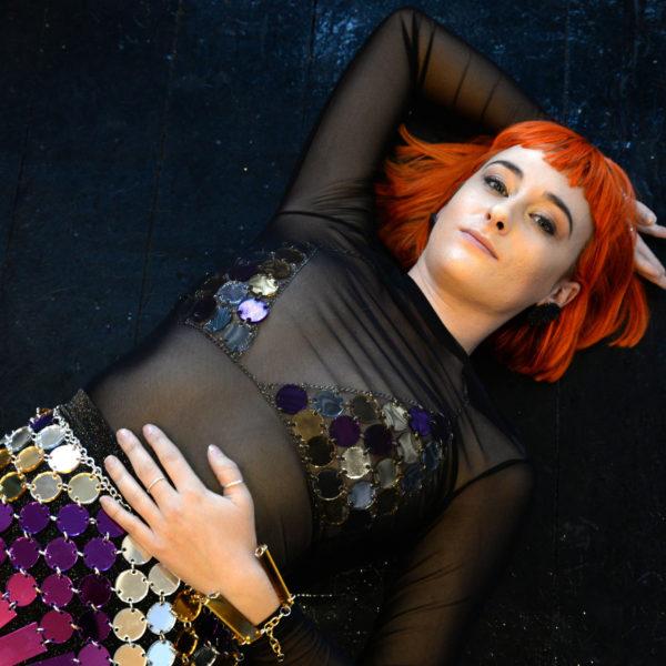DISCO BIKINI; Mirrored Perspex Top | Festival & Party Top | Kokomo Design | Bristol