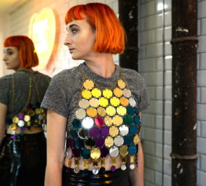 DISCO BZZAAR; Mirrored Perspex Top | Festival & Party Top | Kokomo Design | Bristol