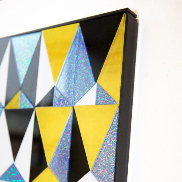 Electric Geo | Perspex Artwork | Home Decor | Kokomo Design