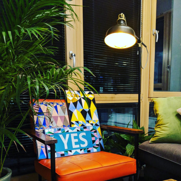 YES YES YES | Perspex Artwork | Home Decor | Kokomo Design