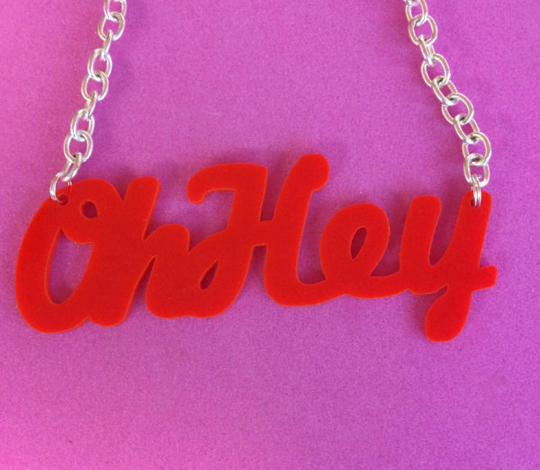 Custom Word Necklace | Festival Jewellery | Kokomo Design | Bristol