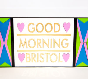 Good Morning Bristol | Perspex Artwork | Home Decor | Kokomo Design