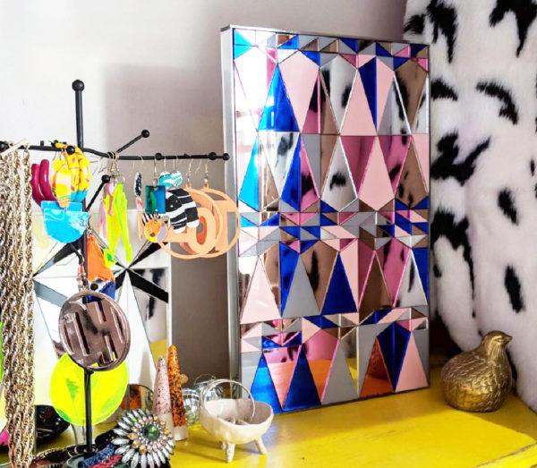 Mirrored Geo | Perspex Artwork | Home Decor | Kokomo Design