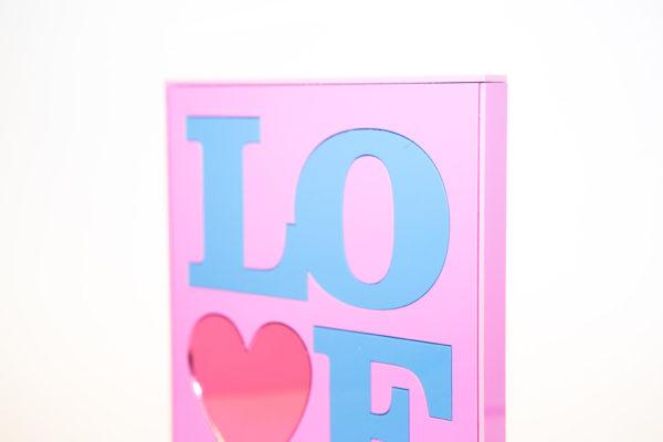 LOVE | Perspex Artwork | Home Decor | Kokomo Design